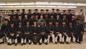 "Graduation at Darrington, 2016!  Thirty-Three new Texas Inmate ""Field Ministers"""