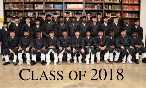 "Graduation at Darrington, 2018!  Thirty-five new Texas Inmate ""Field Ministers"""