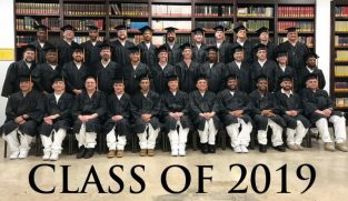 "Graduation at Darrington, 2019!  Thirty-four new Texas Inmate ""Field Ministers"""